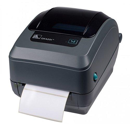 Zebra GK420t Etikettendrucker, schwarz, EPL, ZPL, USB/Ethernet (Printserver)