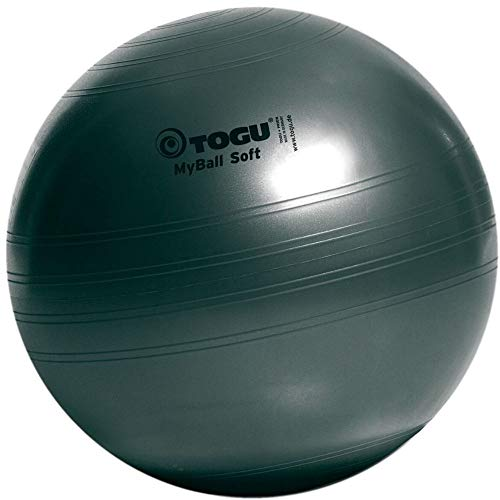 Togu Gymnastikball My-Ball Soft, anthrazit, 75 cm, 418755