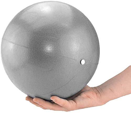 Mupack 25cm Gymnastikball Klein Pilates Ball - Yoga Pilates Ball Kleine Übung Ball,Dicker Anti-Burst Gymnastikball inkl Ballpumpe, Rutschfester&Superleichter Soft Pilates Ball, Fitness Ball