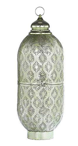Marokkanische Laterne Orientlampe orientalische GRÜN-XL Zum Stellen und Hängen,Deko, Wohnzimmer Deko