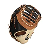Guantes de béisbol EASTON Professional HYBRID First Base | 2020 | Mano derecha | 32,4 cm | Mitt de primera base | Doble bar Single Post Web | Híbrido USA + construcción de cuero japonés | PCH-K70