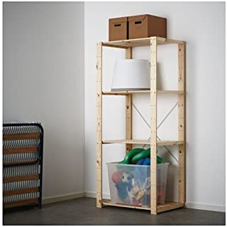 Ikea Shelf unit, softwood 30 3/4x19 5/8x67 3/8