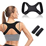 CHARMINER Back Straightener Posture Corrector, Posture Corrector for Men and Women, Adjustable Back Straightener for Natural Pain Relief, Posture Brace