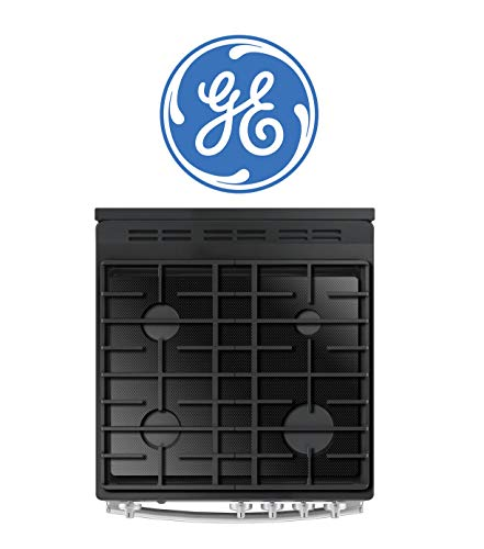 FireFly Home Stove Top Protector for General Electric GE Gas Stove Top, Custom Fit Ultra Thin Reusable Burner Splatter Spill Guard Protective Cover Liner - JGP5030SLSS