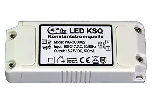 LED Konstantstromquelle|Treiber|Constant Current|500mA|15-27V|KSQ