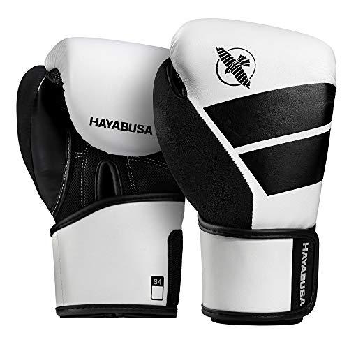 Hayabusa Boxhandschuhe, Kinder, S4, weiß Größe 10 Oz