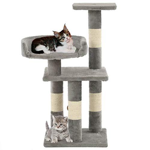 pedkit Massiver Premium Kratzbaum, für große Katzen, Sisal, weicher Plüsch, 30 x...