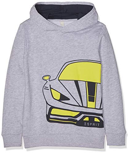 ESPRIT KIDS Jungen Sweatshirt, Silber (Heather Silver 223), (Herstellergröße: 104+)