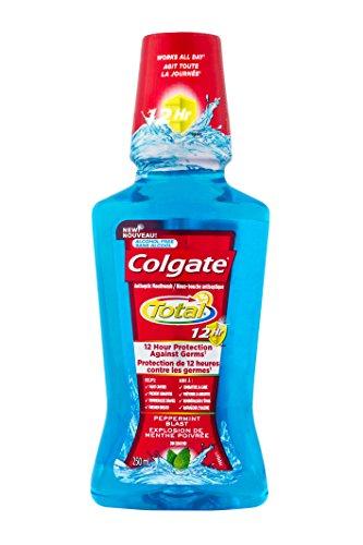 Colgate Total 12HR Pro-Shield Mouthwash, Peppermint Blast, 250 mL