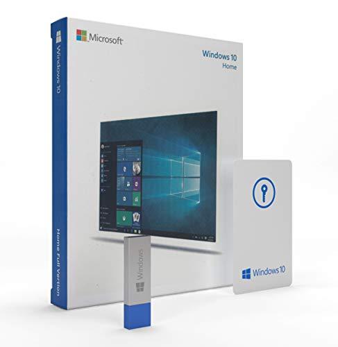 Windows 10 Home 64 Bit / 32 Bit - USB Flash Drive - Deutsch - Betriebssystem Windows 10 Vollversion