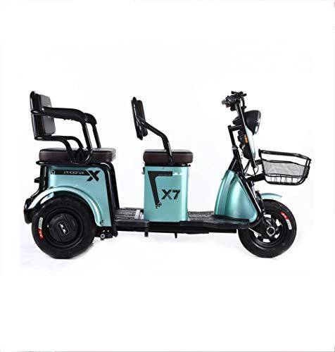 Elektromobilität Roller Elektrofahrrad Dreirad Haushalt kleine Batterie Freizeit Booster Pick-up Kinder Erwachsene ältere Roller Blei-Säure-Batterie 48V / 60V 500W bürstenloser Motor