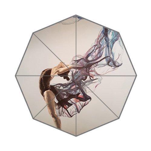Flipped Zomer Y Zwarte Zwaan Schilderij Danser Aangepaste Kunst Prints Paraplu