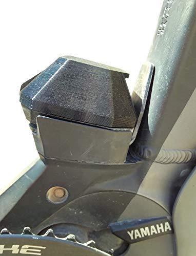 BeDiCo Preis MwSt gesenkt Yamaha E-Bike Schutzabdeckungen Pin Abdeckung für die Rahmen Akku-Aufnahme der Unterrohr Akku 400/500-Wh, PW-Serie z.B. Haibike