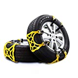 Parts Port Universal Vehicle Tire Chains Snow Chains TPU Plastic + Manganese Alloy