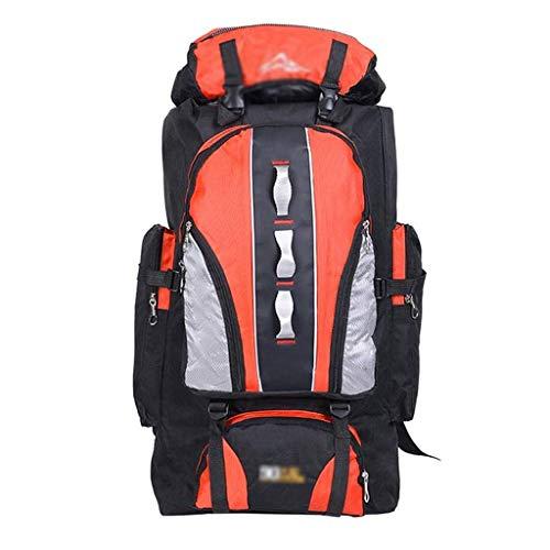 GFDFD Sac à Dos surdimensionné Multifonctionnel imperméable randonnée Sac est Parfait for Sports de Plein air Camping Randonnée Sac à Dos (Color : Orange)