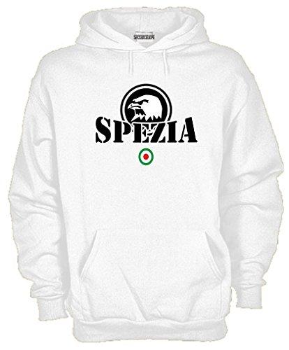 Settantallora - Felpa con Cappuccio KJ901 Spezia Ultras Taglia L