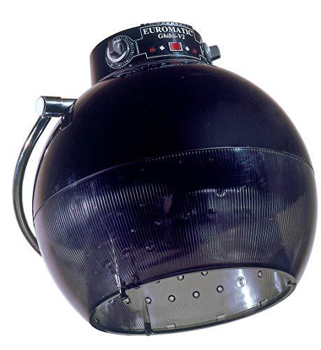 Casco Asciugacapelli Professional Ghibli V2 (NERO)