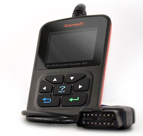 iCarsoft i910 kompatibel mit BMW und Mini Profi Diagnose Handgerät ABS Airbag in Deutsch
