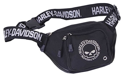 HARLEY-DAVIDSON Tasche Bauchtasche Willi G. Skull Logo Belt