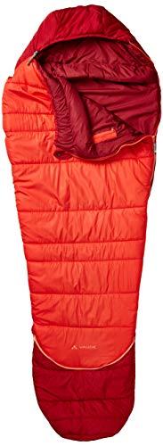 VAUDE Kinder Schlafsack Kobel Adjust 500 SYN, längenverstellbarer Kinderschlafsack, für Größen von 130-165cm, dark indian red, one Size, 129626520010