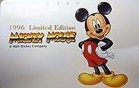 テレホンカード/ テレカ The Walt Disney Company -1996 Limited Edition MICKEY MOUSE-B- ディズニー ミッキーマウス50度数