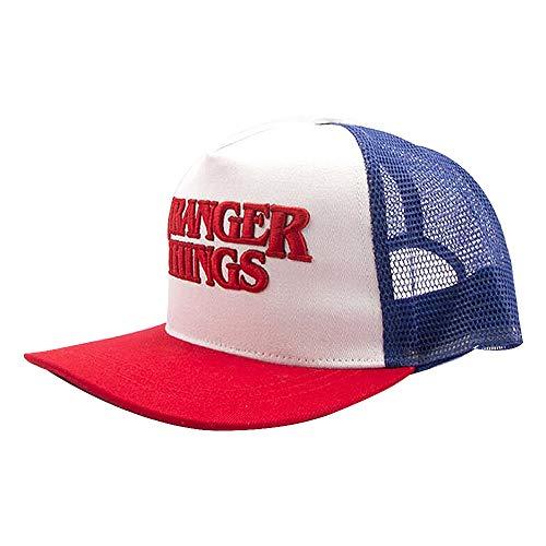 Aosida Stranger Things Baseball Caps Film Casual kostuum Dustin Hip Hop Visor Hat Jongens Meisjes Studenten Unisex Snapback