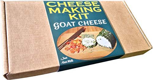 Kit de fabrication de fromage de chèvre - Excellente idée cadeau, à faire soi-même
