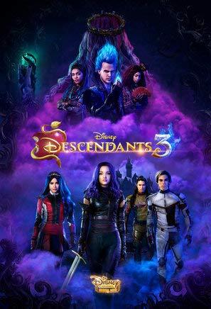 Descendants 3 – U.S Movie Wall Poster Print - 30cm x 43cm / 12 Inches x 17 Inches