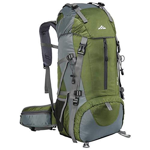 Loowoko Hiking Backpack, 50L Waterproof Travel Backpack Trekking Rucksack Mountaineering...
