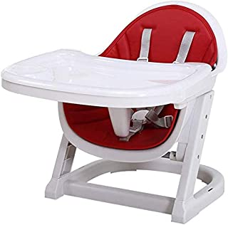 Beautiful Baby Booster Seat For Dining, Child Feeding Chair Detachable Tray Harness Adjustable Home Kids Safety Plastic Hi...