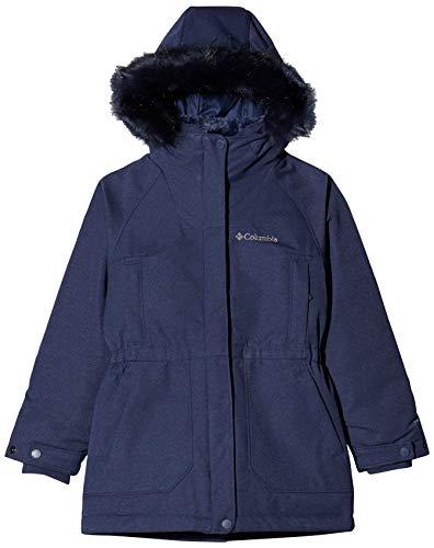 Columbia Sportswear Mädchen Boundary Bay Down Parka Jacke, Nocturnal, XS