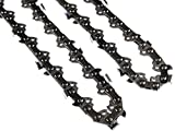 Morocca 2PC 8' Pole Saw Chain 3/8' LP .050 G 33 DL Replacement Chains for Harbor Freight Portland 62896 68862