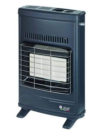 estufa infrarrojos Metano ventilada 4200W Color Gris