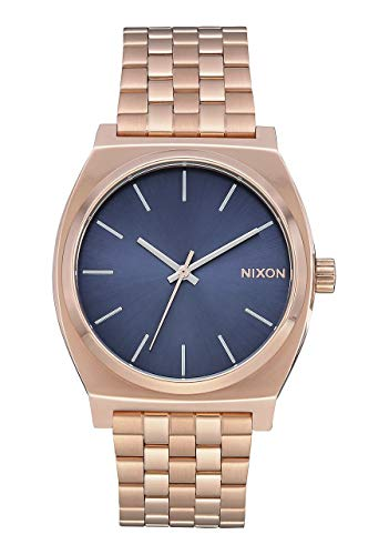 Nixon Reloj Analógico para Unisex Adultos de Cuarzo con Correa en Acero Inoxidable A045-3005-00