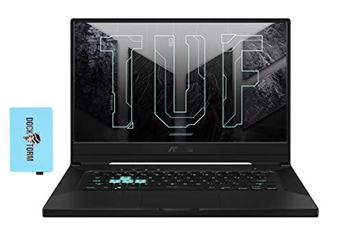 "ASUS TUF Dash F15 Gaming Laptop (Intel i7-11370H 4-Core, 16GB RAM, 512GB SSD, RTX 3060, 15.6"" Full HD (1920x1080), WiFi, Bluetooth, 1xUSB 3.2, 1xHDMI, RGB Backlit Keyboard, Win 10 Home) with Hub"