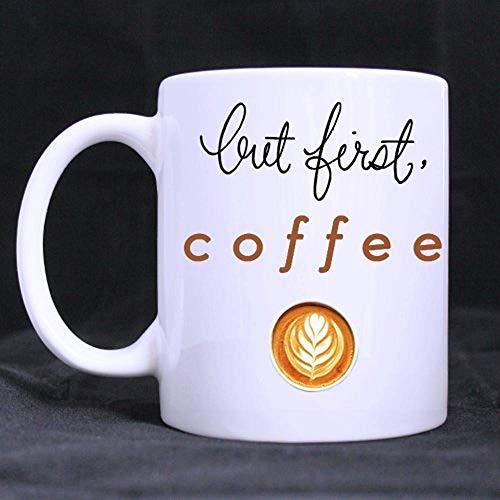 Lustiger Zitat-Schmetterling 11oz beste auserlesene weiße Keramikkaffeetasse-Schale