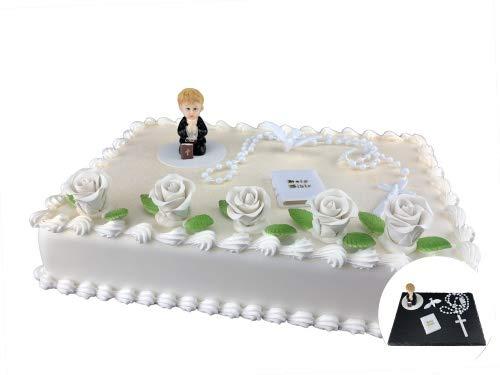 Cake Company Tortendeko Kommunion Junge   Kuchen und Torten schnell und einfach dekoriert