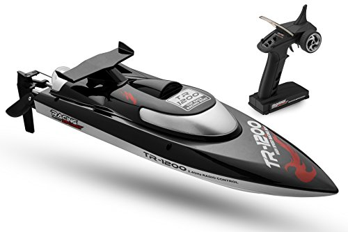 Top Race Remote Control RC Boat, Speed...