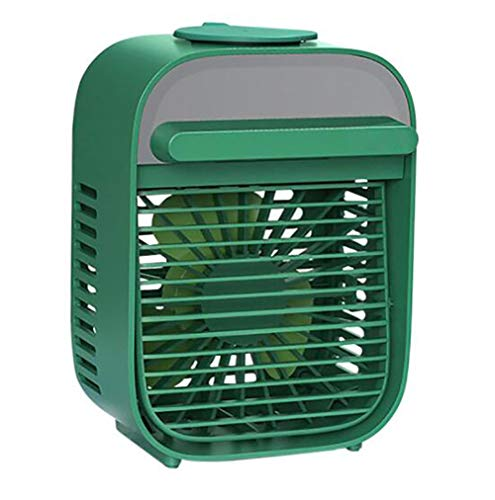 LIXUE Aire Acondicionado Mini Enfriador Portátil, Humidificador y Purificador, Air Cooler Fan con 3 Velocidades para Hogar y Oficina