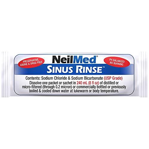NeilMed Sinus Rinse Premixed Sachets, 120 each