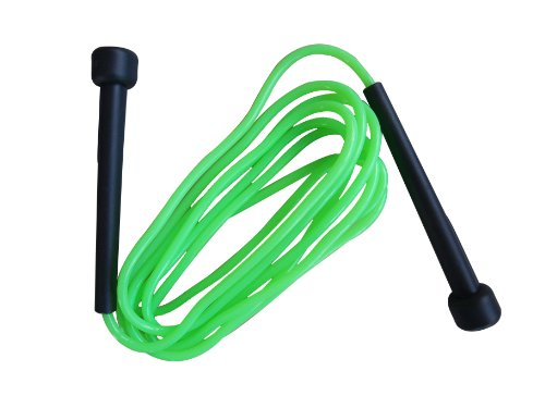 Schildkröt Fitness Springseil Speed Rope, Grün-Anthrazit, in PVC Drehdose, 960025