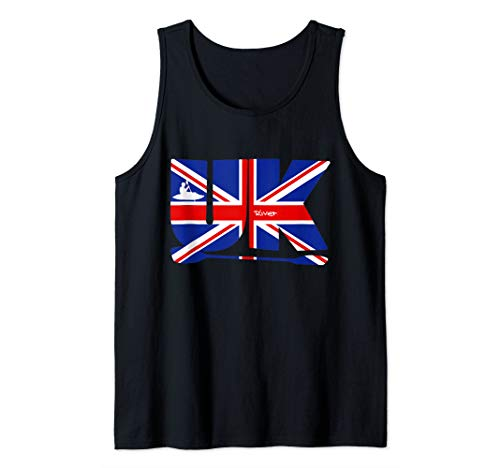 Kanu, Kajak, Kanadier und Paddeln, the Union. Tank Top