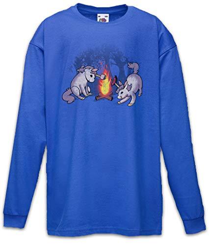 Urban Backwoods Campicorns I Kinder Kids T-Shirt Met Lange Mouwen