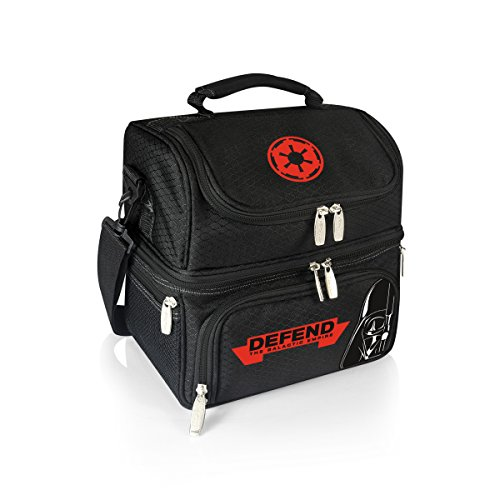 Lucas/Star Wars Pranzo Insulated Lunch Cooler with Service for One, Darth Vader