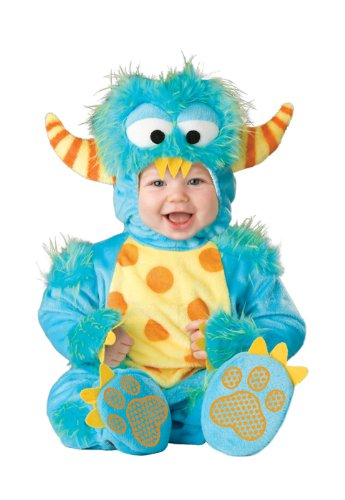 InCharacter Lil' Monster Infant/Toddler Costume, Infant (6-12) Blue