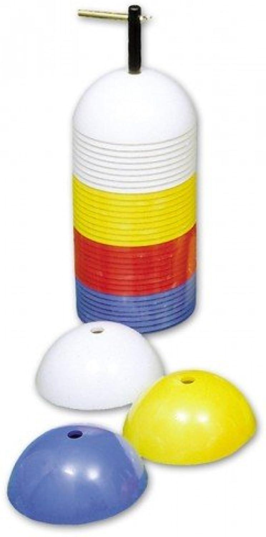 Sport Marker Sicherheit Fußball Rugby Rugby Rugby Training Markierungshütchen sortiert (40 Stück) B079Y6B569  Qualitätskönigin 25a3b7
