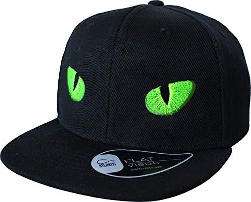 Kinder Cap: Monsteraugen - Mütze für Kinder - Monster Grusel Gespenst - Geschenk für Junge-n & Mädchen - Kappe Baseball-Cap Basecap - Kinder-Geburtstag Schule Sport Sonnenschutz (One Size)