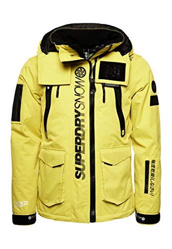 Superdry Herren Ultimate Snow Rescue Jacke Schwefelgelb L