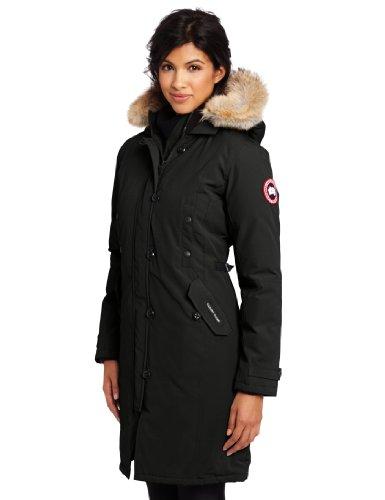 Canada Goose Women's Kensington Parka,Black,Large