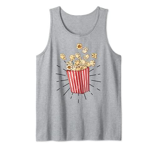Palomitas de maz retro vintage - popcorn Camiseta sin Mangas